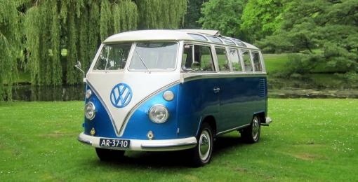 Volkswagen T1 Samba busje als trouwauto
