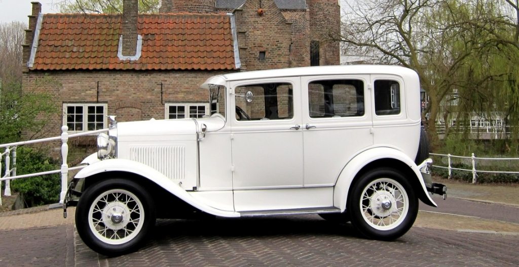 A Ford trouwauto