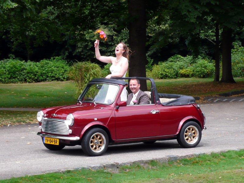Mini Cabriolet trouwauto