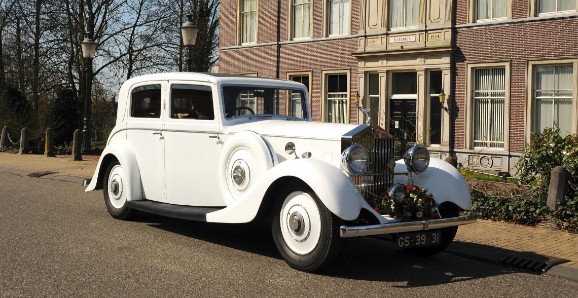 Rolce Royce Limousine trouwauto
