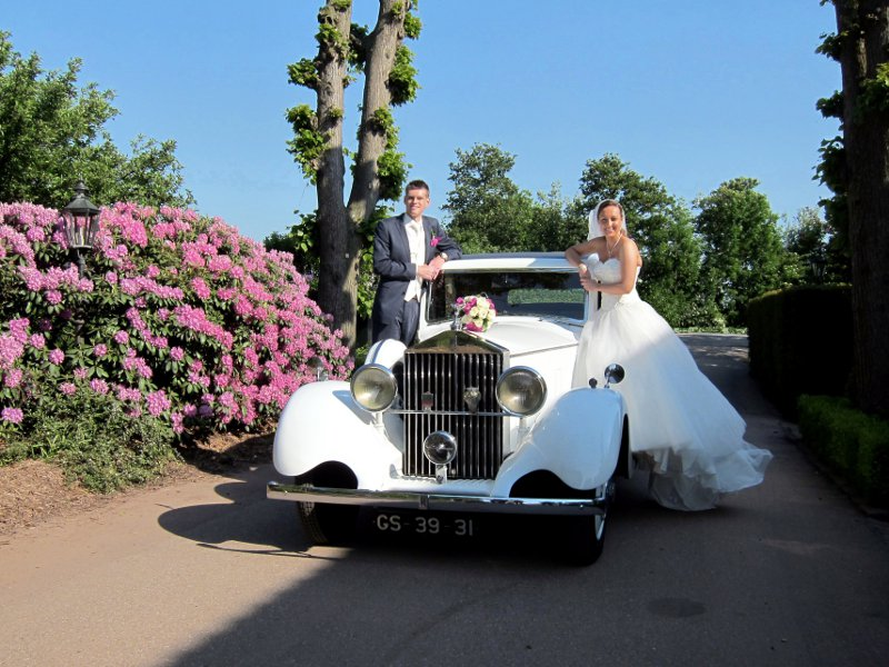 Rolls Royce Limousine trouwauto-1