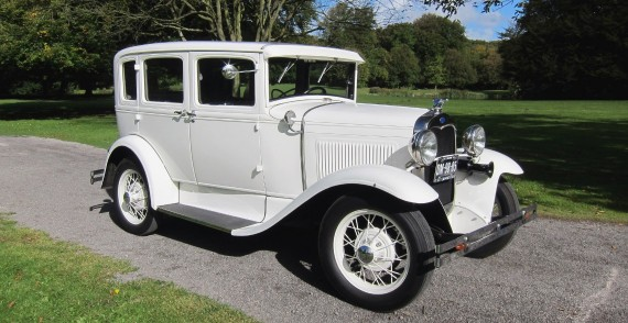 A-Ford (1930) trouwauto