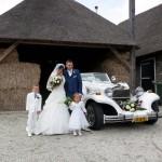 Trouwauto huren in Zevenhuizen