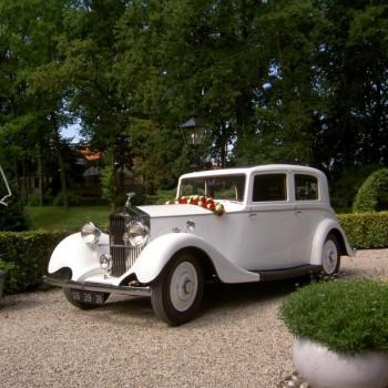 Rolls Royce 20/25 Sports Limousine (1935) trouwauto schuin voor