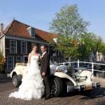 Trouwvervoer huren Delft