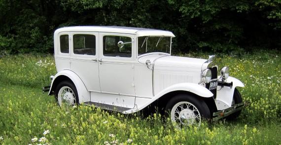 A-Ford (1930) trouwauto huren