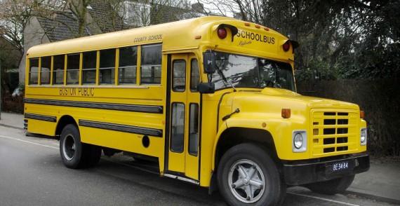 Amerikaanse Schoolbus (26 Pers.) trouwauto huren