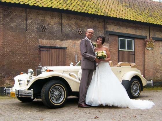 Trouwauto in Bergen op Zoom