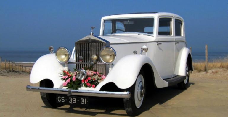 Rolls Royce trouwauto
