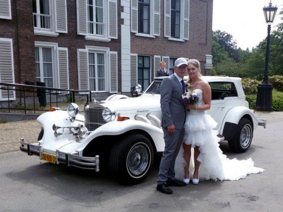 Trouwauto in Rijswijk