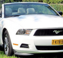 Trouwauto's Ford Mustang