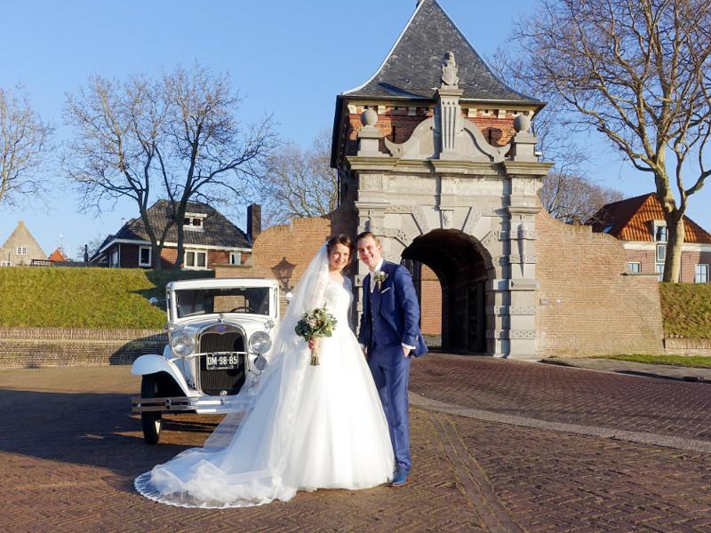 A-Ford huren voor bruiloft