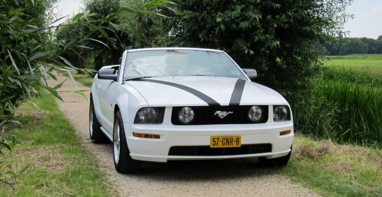 Ford Mustang trouwauto